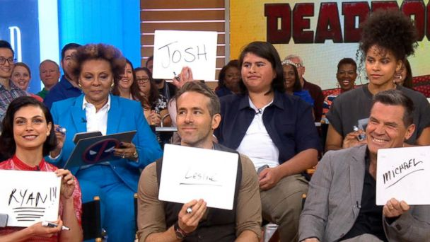 'GMA' Hot List: The cast of 'Deadpool 2' plays 'Deadpool: Confessions' game