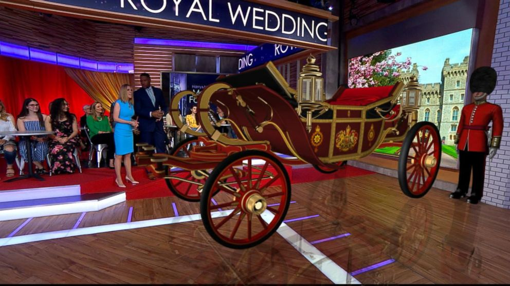 VIDEO: The royal wedding augmented reality experience