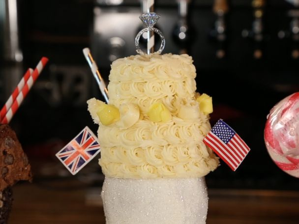 WATCH:  Over-the-top royal wedding shake takes the cake