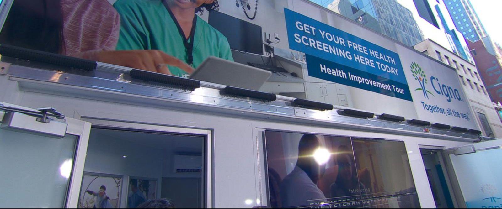 VIDEO: Inside Cigna's Health Improvement Tour van