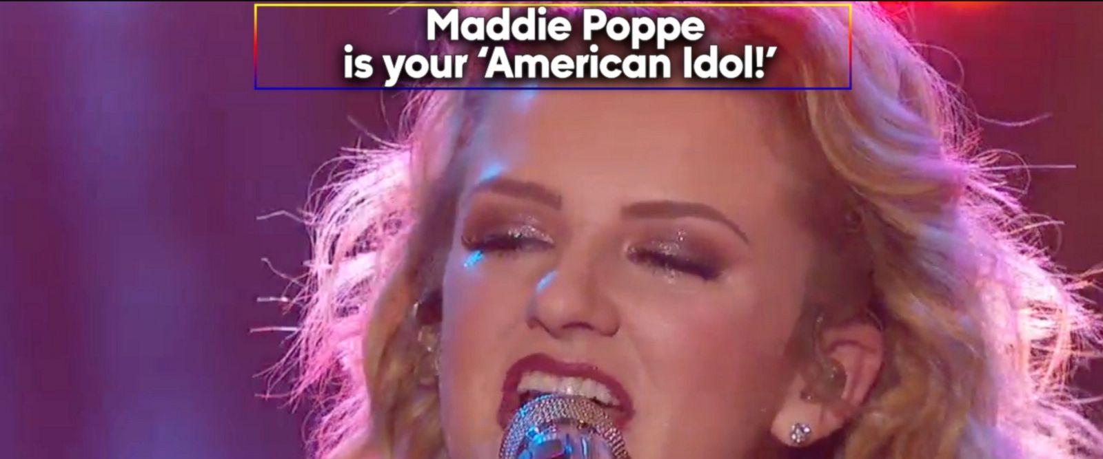 VIDEO: Congratulations, Maddie Poppe