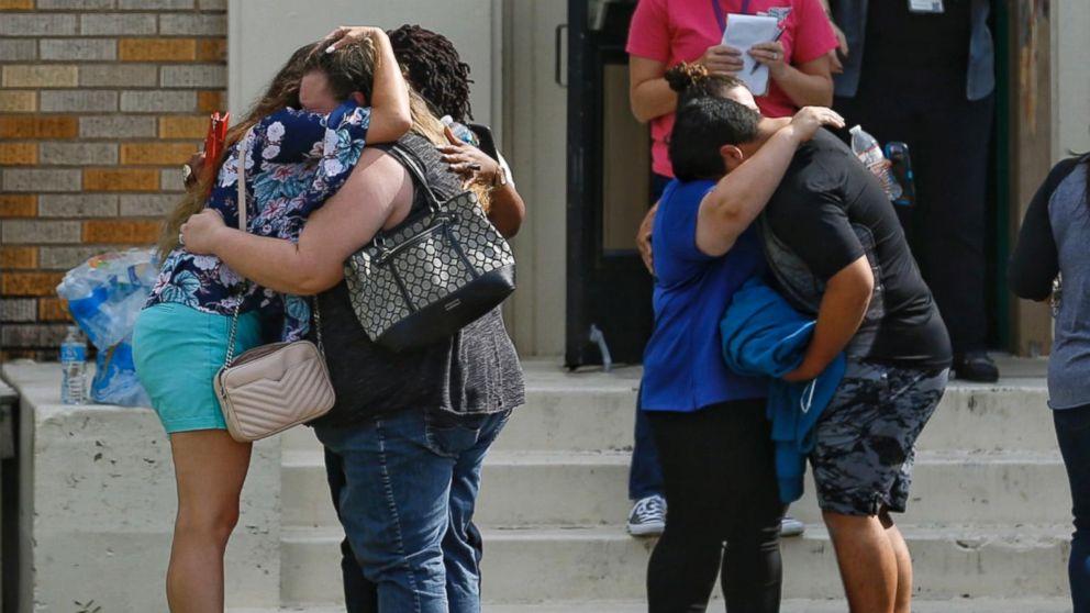 Houston Texans  star JJ Watt visits Santa Fe shooting survivors ... a2f9f5436