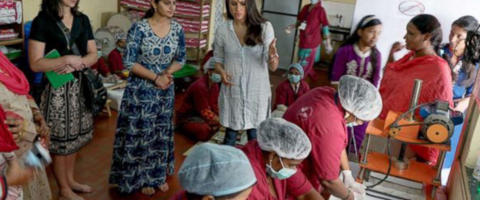 VIDEO: Meghan Markle sheds light on menstrual hygiene