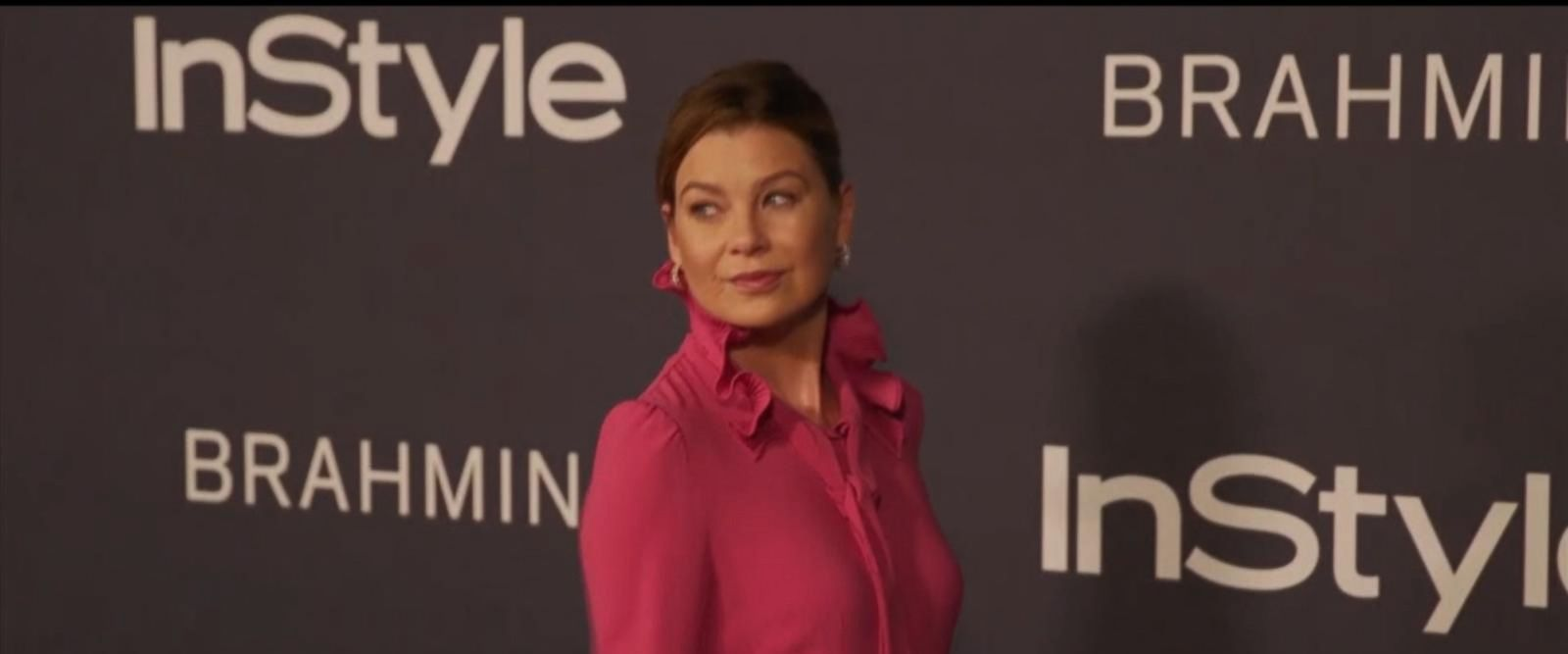 VIDEO: Ellen Pompeo's purse stolen in Italy