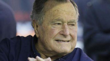 Former President George H.W. Bush hospitalized Video Former President George H.W. Bush hospitalized Video 180528 gma benitez hpMain 16x9 384