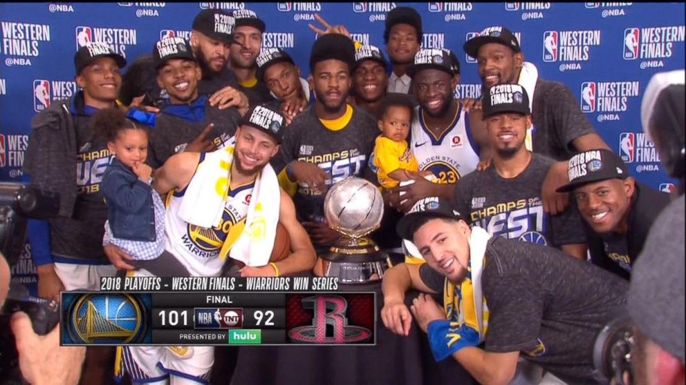 83f09999159f Steph Curry and 5-year-old daughter celebrate big win in the cutest way -  ABC News