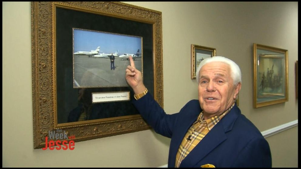 Preacher Who Wants 54m Jet Will Donate Old Jet Video Abc News