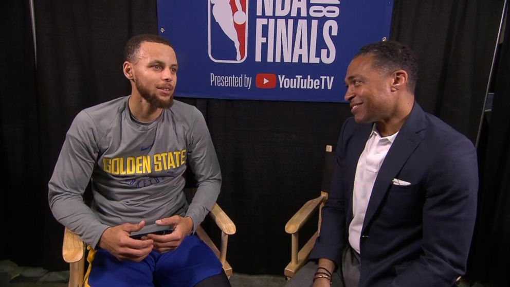 d432ccc8dba Steph Curry speaks out before showdown with Cavaliers Video - ABC News