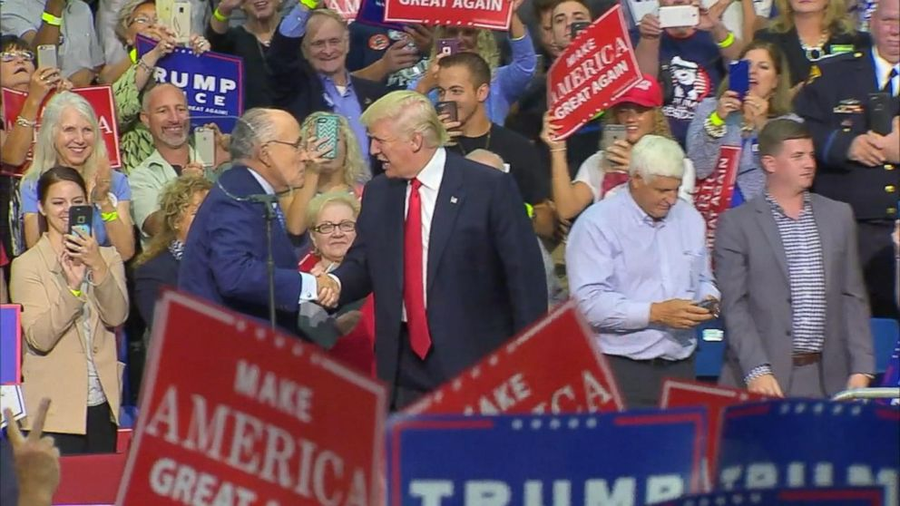 Trump has power to pardon himself: Giuliani