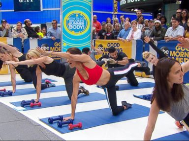 WATCH: The ultimate summer workout to get beach body ready