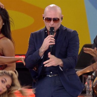 Pitbull opens up about his latest projects live on 'GMA' | GMA