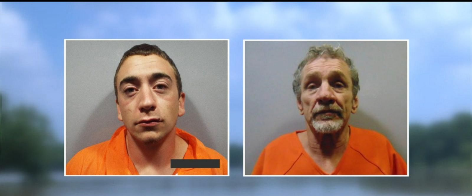 VIDEO: One escaped inmate back in jail, two remain on the loose