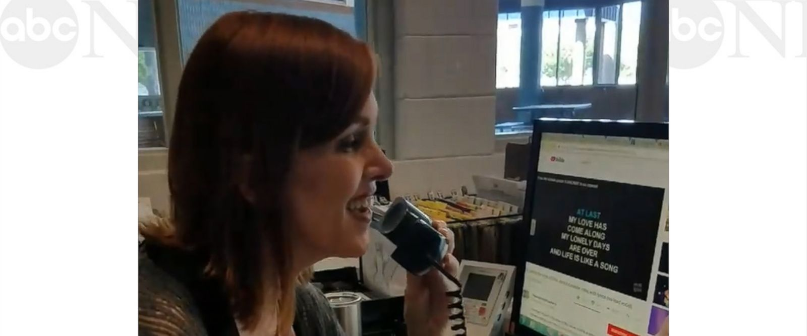 VIDEO: School receptionist's stunning version of 'At Last' is how we all feel about summer
