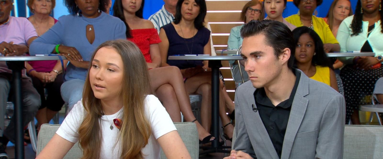VIDEO:David and Lauren Hogg talk about becoming activists