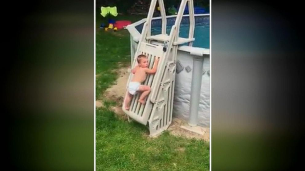 Viral Video Of Toddler Breaching Pool Gate Offers Warning For