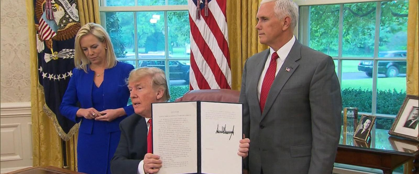 VIDEO: Reaction to Trump's order ending family separations