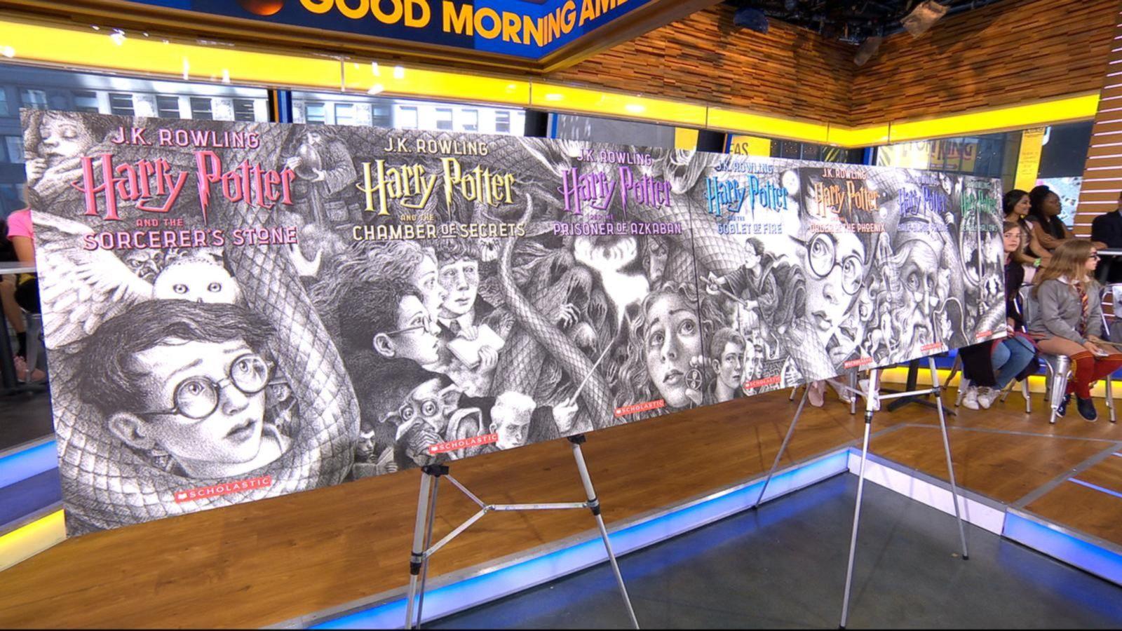 Mesmerizing New Harry Potter Covers Out Today To Mark The Series