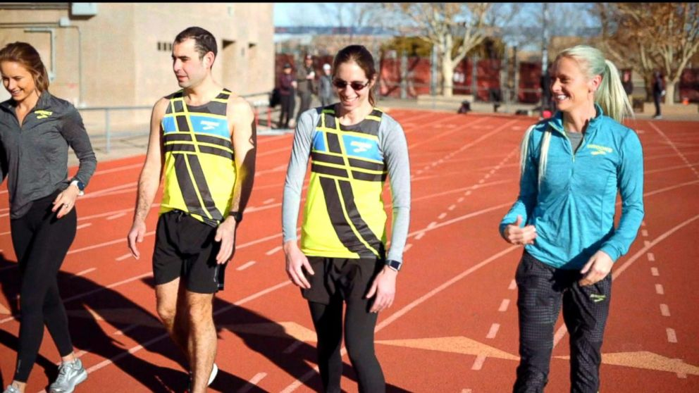 7b9d3e14726 Elite runners inspire on and off the track Video - ABC News