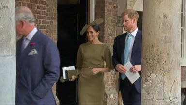 VIDEO: Prince Harry and Meghan Markle embark on 1st foreign trip since the wedding