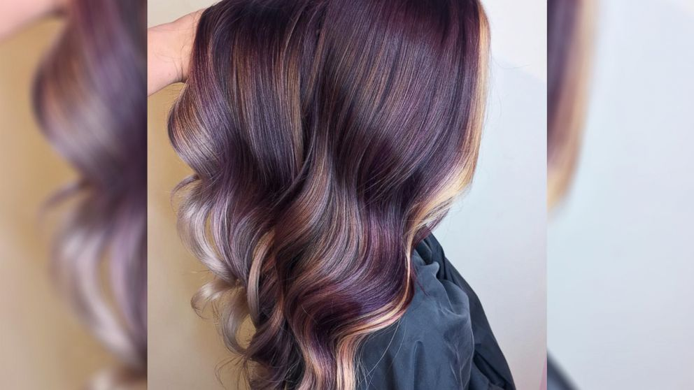 VIDEO: The peanut butter and jelly hair trend is actually beautiful
