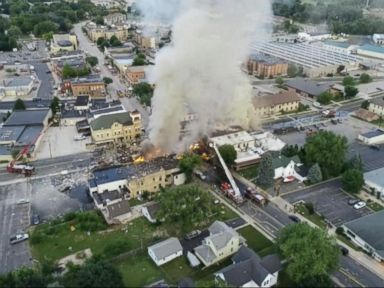 WATCH: Gas explosion rocks Wisconsin town