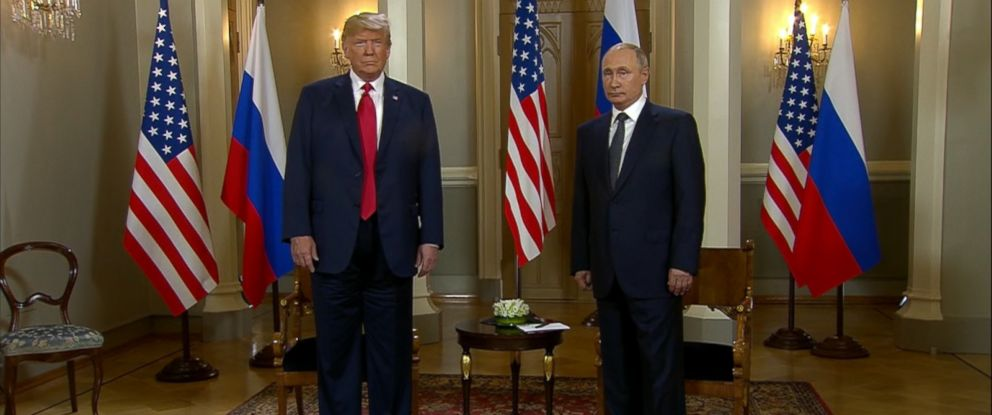 VIDEO: President Donald Trump and Russian President Vladimir Putin met Monday for a summit on neutral ground in Helsinki, Finland.
