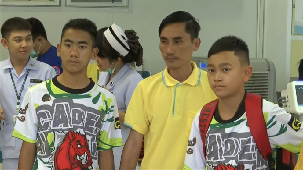 Boys say they dug holes in cave to try to save themselves