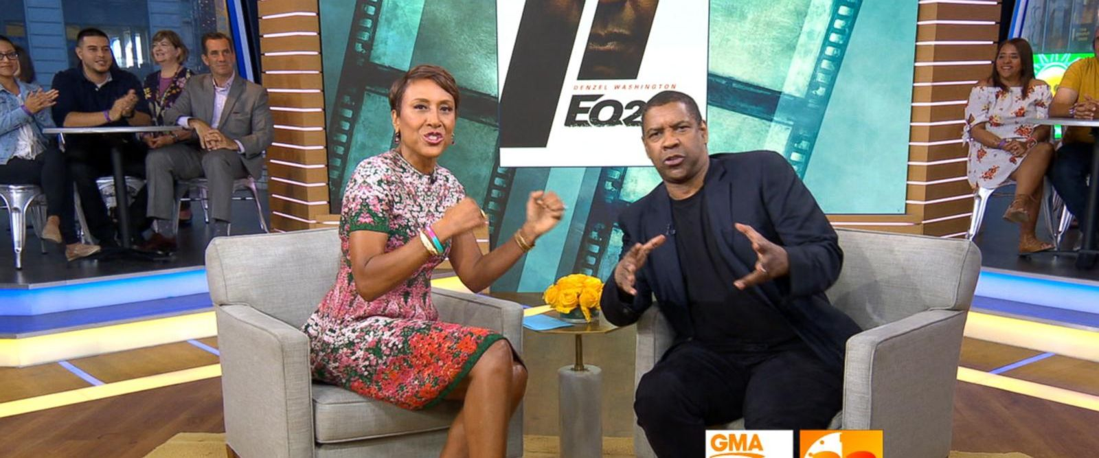 VIDEO: 'GMA' Hot List: Denzel Washington breaks out into song with Robin Roberts