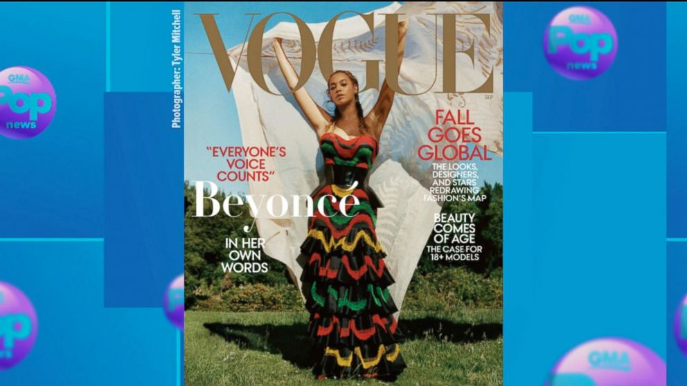 21f9a3696 Mindy Kaling channels her inner-Beyonce in homage to singer's Vogue ...