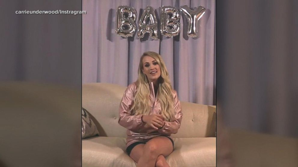Carrie Underwood Reveals Baby Bump Expecting 2nd Child Video