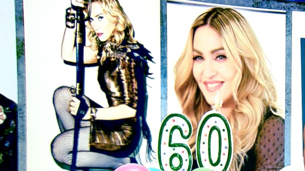 Happy Birthday Madonna Queen Of Pop Turns 60 Abc News