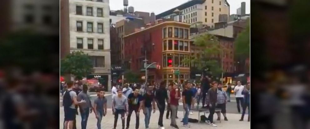 VIDEO: Woman dupes dozens of men into public dating contest via Tinder