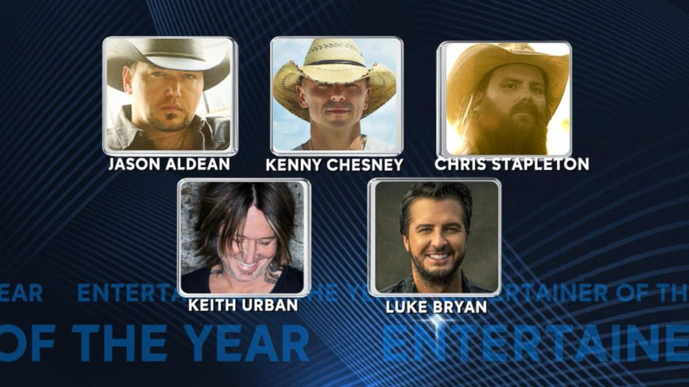 9e73ae0f98f 2018 CMA Awards nominees for entertainer of the year and more Video ...