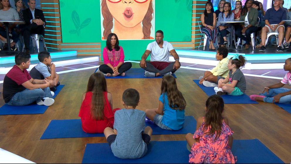 How to keep kids stress-free with meditation