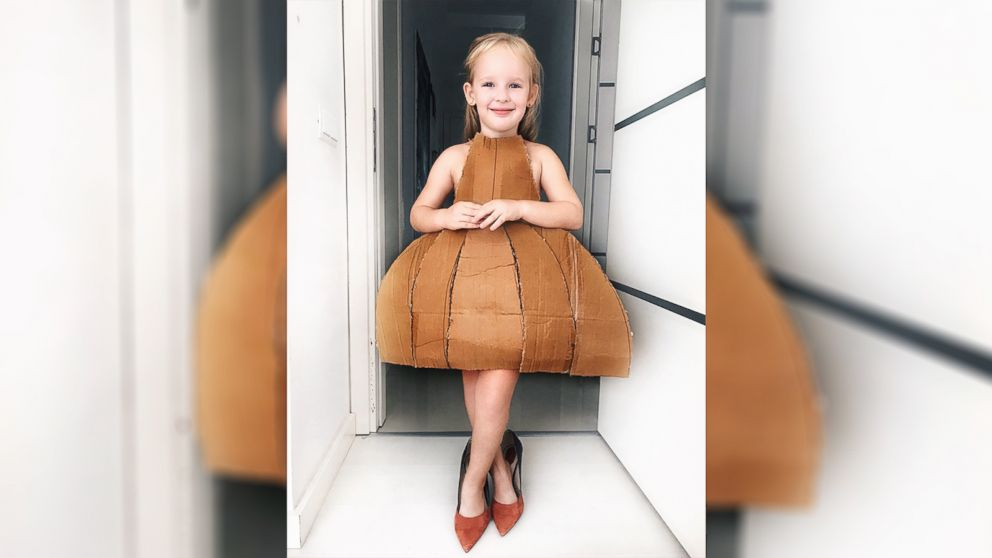 d6942554aba97 This 4-year-old girl is Instagram famous for dressing up as her ...