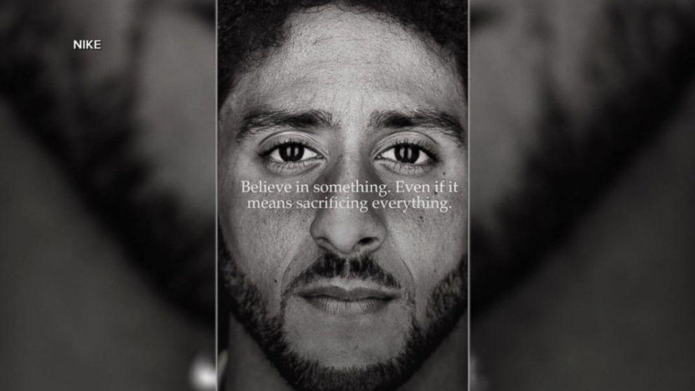 Colin Kaepernick named face of Nike's