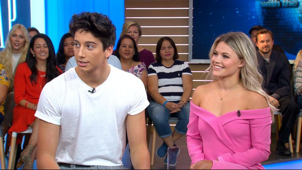 VIDEO: Milo Manheim to hit the dance floor with Witney Carson on 'Dancing With the Stars'