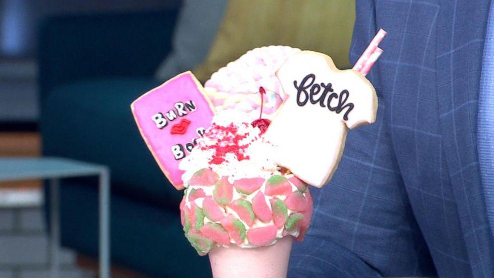 Black Tap unveils 'Mean Girls' milkshake