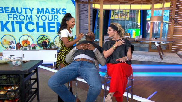 Lifestyle guru Hannah Bronfman's DIY face masks