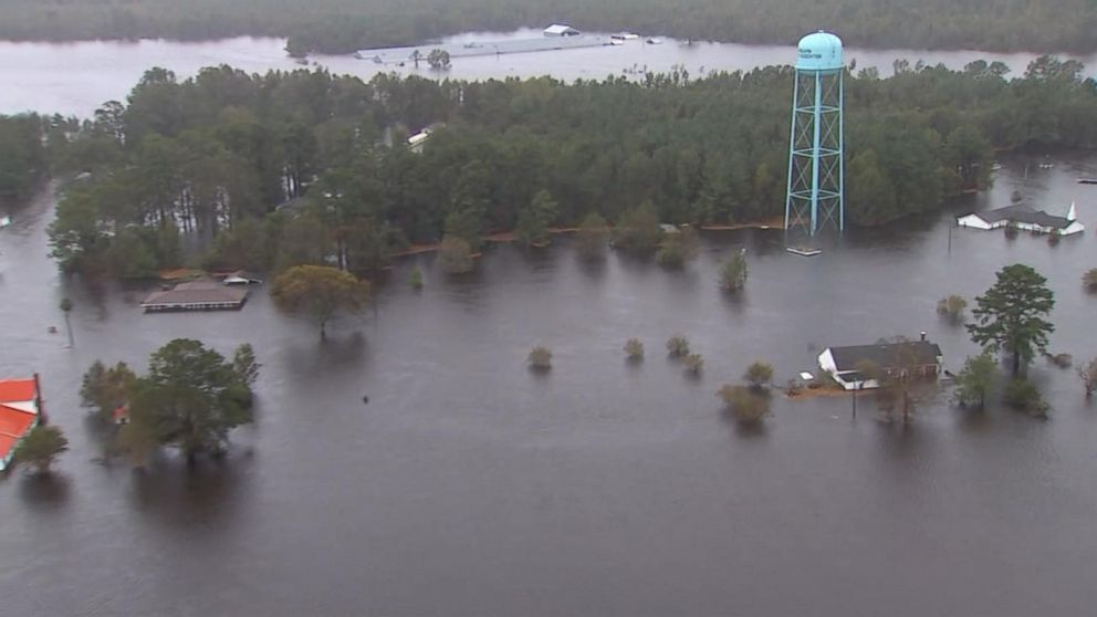 Flooding from 'epic storm' Florence isn't over yet, North Carolina