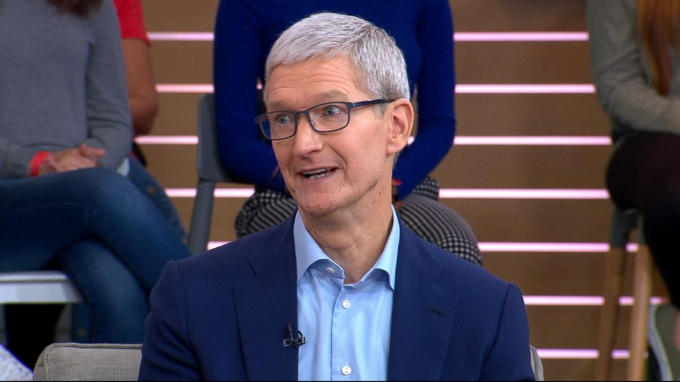 super popular aff1a 6e20d Tim Cook opens up about what s next for Apple, live on  GMA  Video - ABC  News