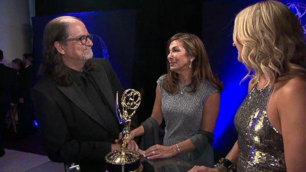 Emmy winner turns speech into marriage proposal
