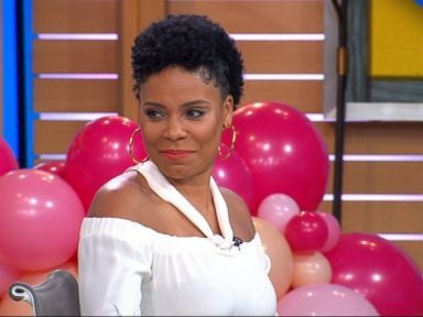 WATCH: Sanaa Lathan and the hosts face off in an acronym contest!