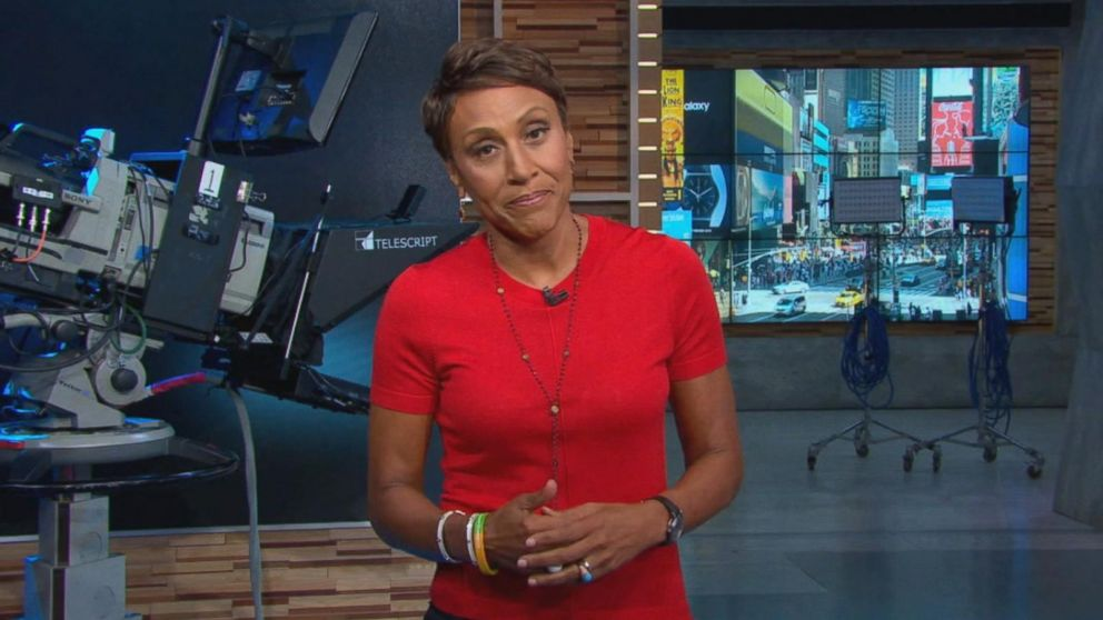 Robin Roberts celebrates the 6th anniversary of her bone marrow Video - ABC News