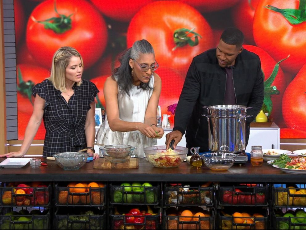 VIDEO: Find out what Carla Halls cooking up in the GMA Day kitchen