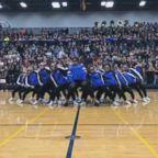 VIDEO: Principal slays 'Level Up' challenge at school pep rally