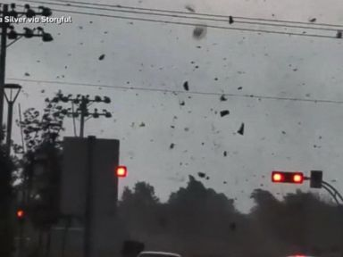 WATCH:  Severe weather causing major damage north of New York