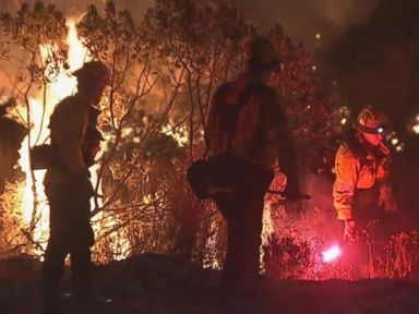 WATCH:  Evacuation ordered as wildfire Charlie grows