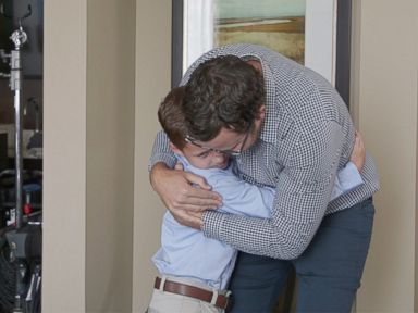 WATCH: 9-year-old in remission surprised by bone marrow donor who saved his life