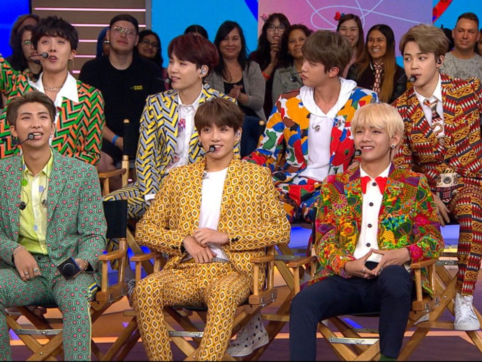 VIDEO: BTS, one of the hottest music groups in the world, speaks out on GMA